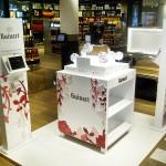 Outpost Ruinart Rosé au Terminal S4 De Roissy. Découverte olfactive des 8 arômes du champagne.