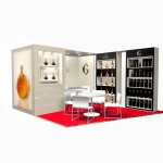 Stand Gosset / Frapin TFWA Cannes 2014