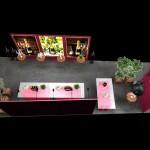 Crétaion avec Go For Hit du stand Krug pour le panorama des champagnes à MIllésima